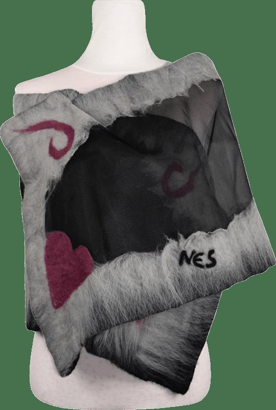 Stola Donna in Organza - Coccola del Cuore