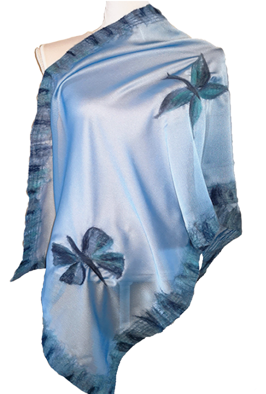 Stola Donna in Organza – Butterfly • NES Wearing Energy