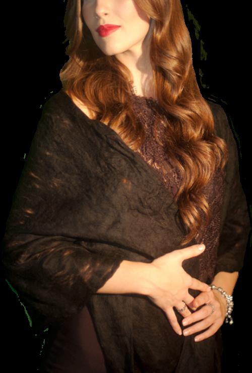 Sciarpa Donna Lana Merinos - Nūr