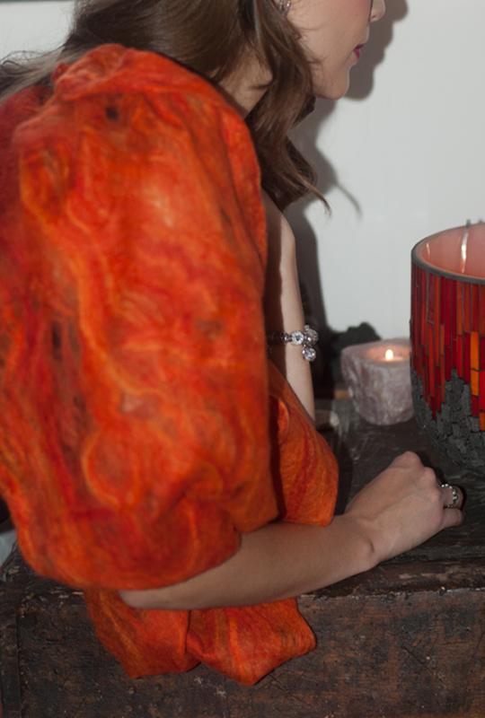 Scaldacollo lana Merino - Hadar