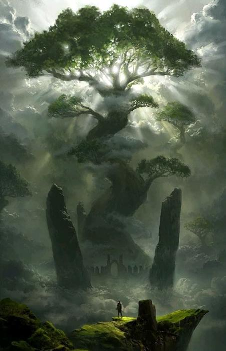 Iggdrasyl. L'albero del mondo - Le Rune di NES