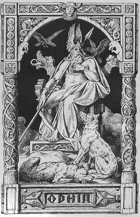 Le Rune di NES - Odino